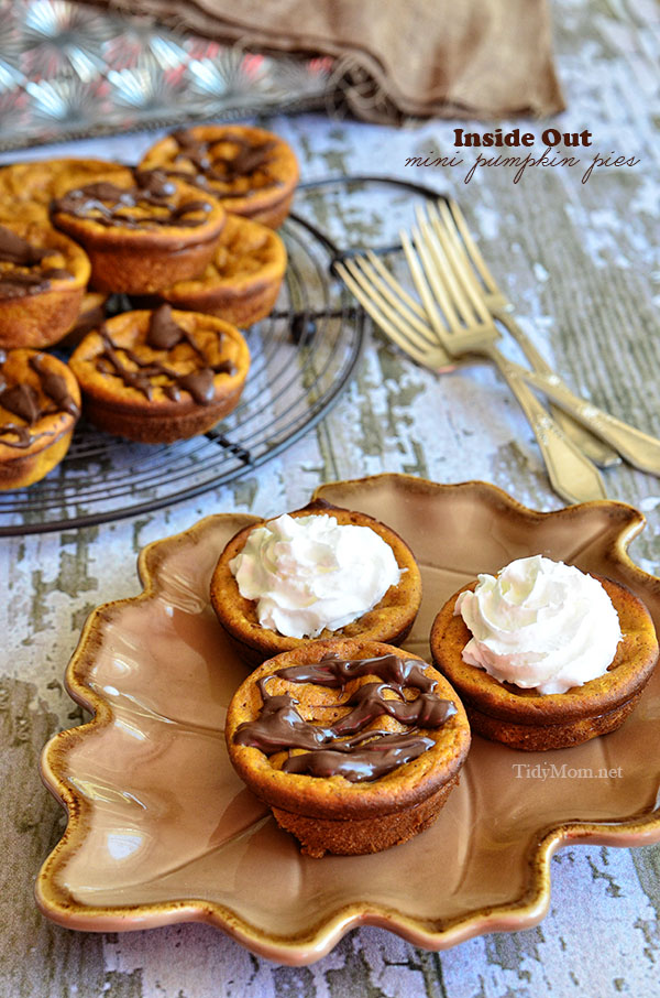 "Inside Out Mini Pumpkin ""Pie"""