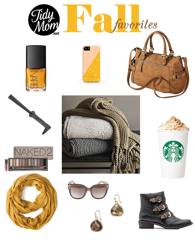 Fall Favorites at TidyMom.net