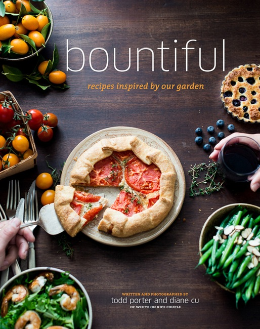 Food Book Cover Design ~ Bountiful cookbook