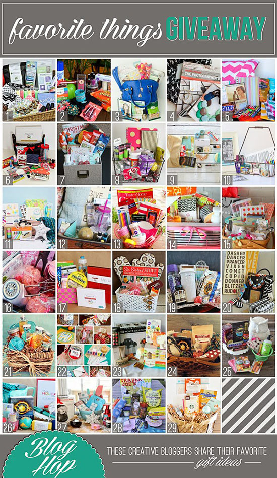 2013 Favorite Things Giveaway