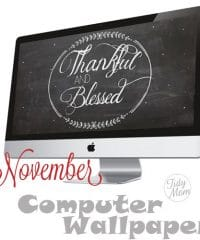 FREE November Background Wallpaper at TidyMom