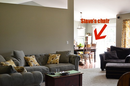 Family room steve chair