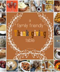 20 Recipes and Ideas for a Family Friendly #Thanksgiving Table at TidyMom.net