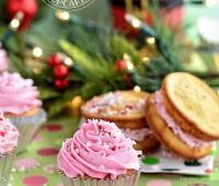 Vanilla Peppermint Cupcake