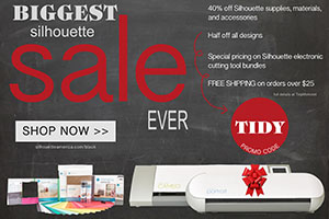silhouette Black Friday promo code TIDY