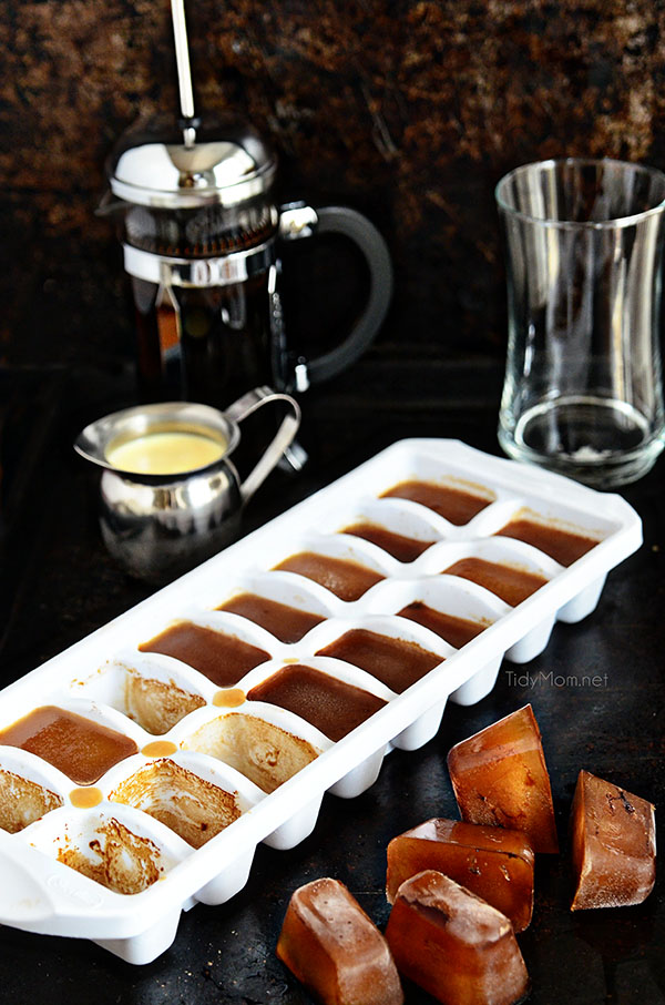 Coffee Ice Cubes are the secret to good iced coffee
