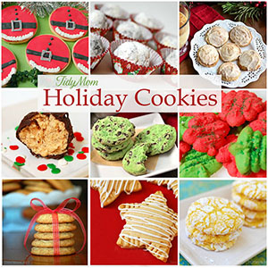 Favorite Holiday Cookie Recipes at TidyMom.net