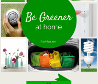 Be Greener at Home
