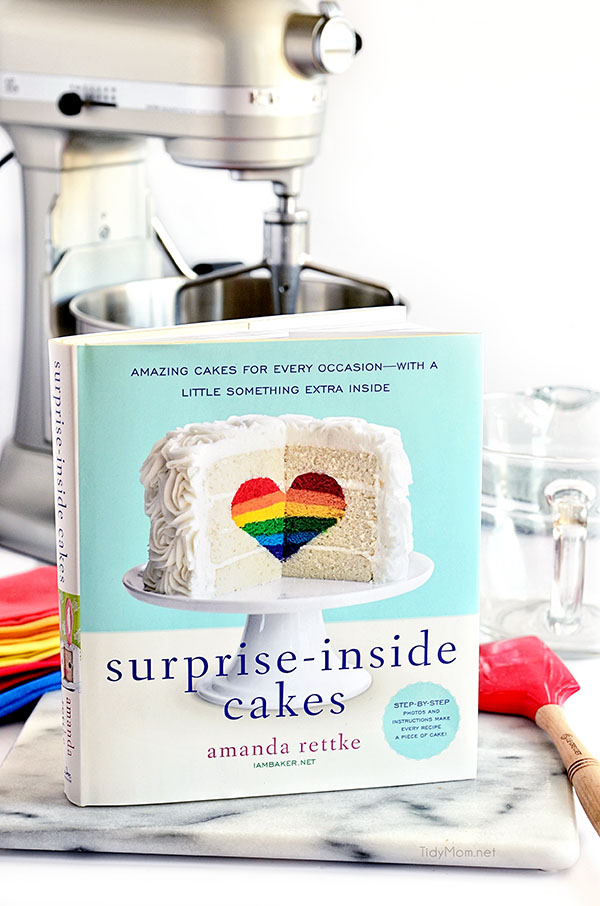 Surprise Inside Cakes Book