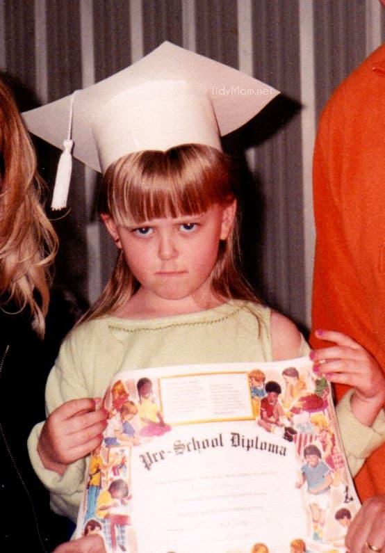 not happy about pre-school graduation