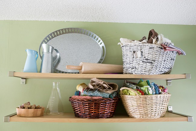 Organizing and Creating in a Small Kitchen Space on TidyMom.net