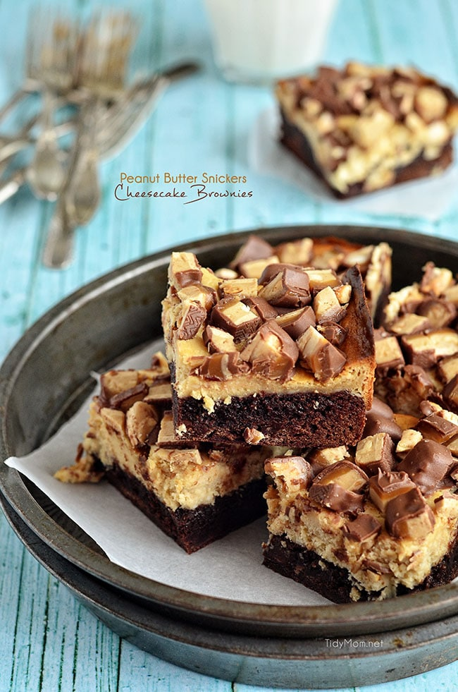 Peanut Butter Snickers. Peanut Butter Cheesecake. Brownies. Need I say ...