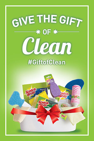 Scotch-Brite Mother's Day Gift of Clean