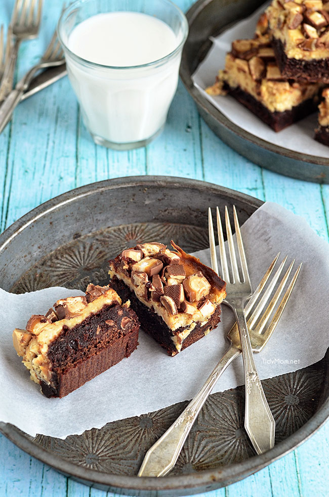 Peanut Butter Snickers Brownie Skillet Recipes — Dishmaps