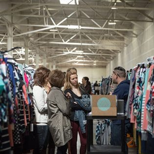 Bloggers tour the Stitch Fix Hizzy in San Francisco