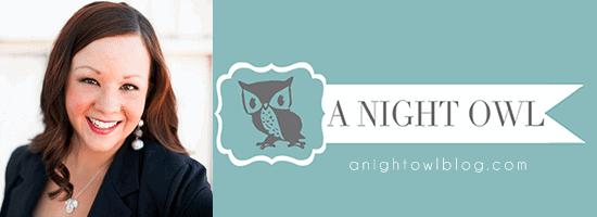 Kimberly of ANightOwlBlog.com