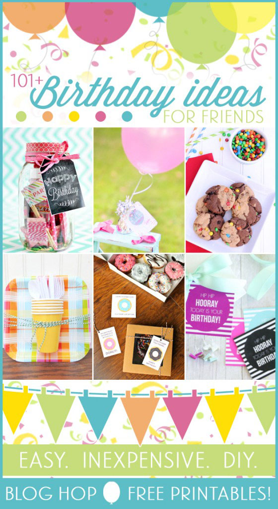 101 Birthday Gift Ideas for Friends Blog Hop at TidyMom.net