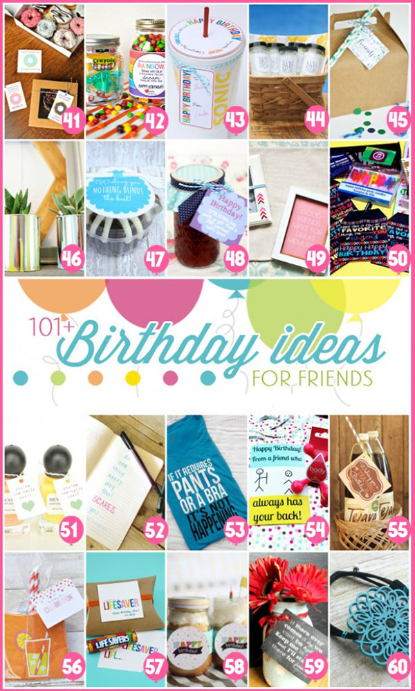 101+ DIY Birthday Gift Ideas at TidyMom.net