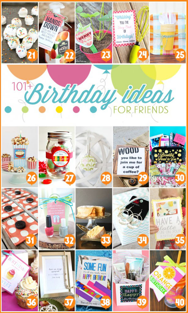 101+ Birthday Gift Ideas at TidyMom.net