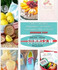 Spark Your Summer - Ignite your creativity with summer recipes, crafts, giveaways and more at TidyMom.net