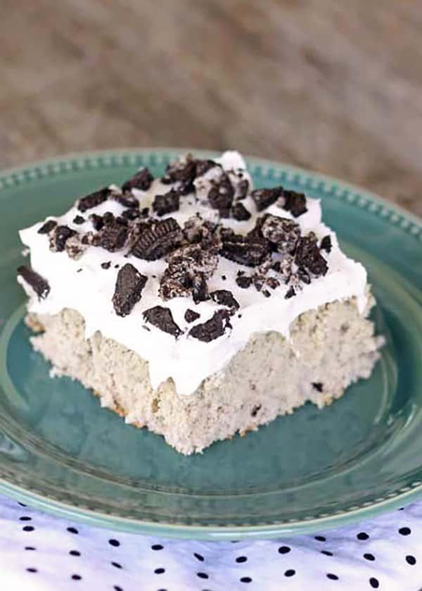Homemade cookies and cream cake recipe