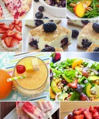 Sensational Summer Fruit Recipes at TidyMom.net