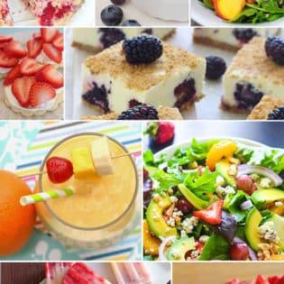 Sensational Summer Fruit Recipes at TidyMom.net