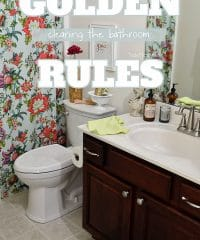 Cleaning the bathroom… It's a dirty job, but somebody has to do it. right? A lot of messes can happen in the bathroom, follow these simple rules for getting a complete clean in the bathroomwithout spending hours cleaning up after everyone else. TidyMom.net