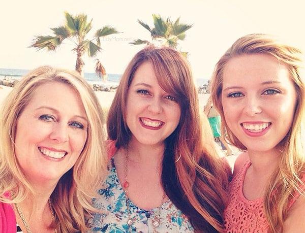 Cheryl, Heather and Allison