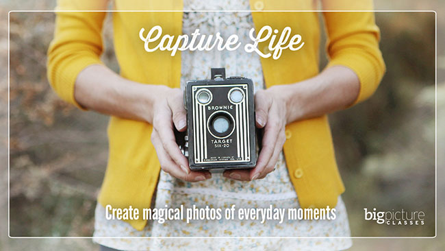 Capture Life - create magical photos of everyday moments. Online Photography workshop with Rebecca Cooper