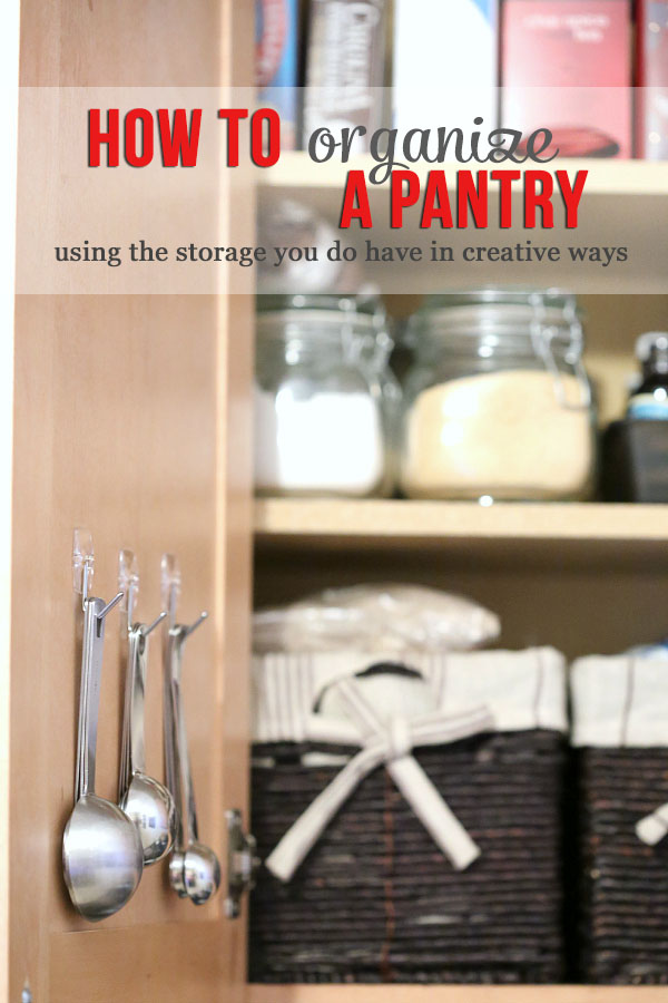 Kitchen & Pantry Organization Tips
