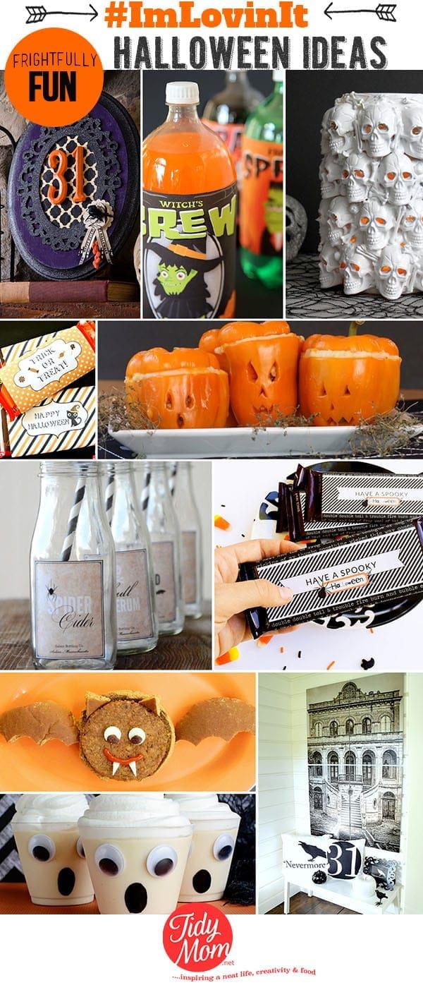 10 Frightfully Fun Ideas for Halloween at Tidymom.net