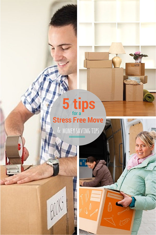 5 Tips for a Stress Free Money Saving Move