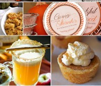 10 DIY Thanksgiving Ideas. Recipes, printables, decor and more!