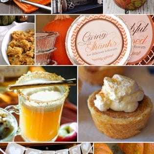 10 DIY Thanksgiving Ideas. Recipes, printables, decor and more!