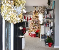 Christmas Home at TidyMom.net