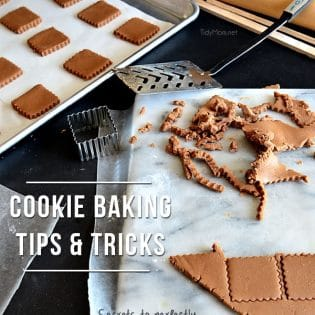 Cookie Baking Tips & Tricks at TidyMom.net