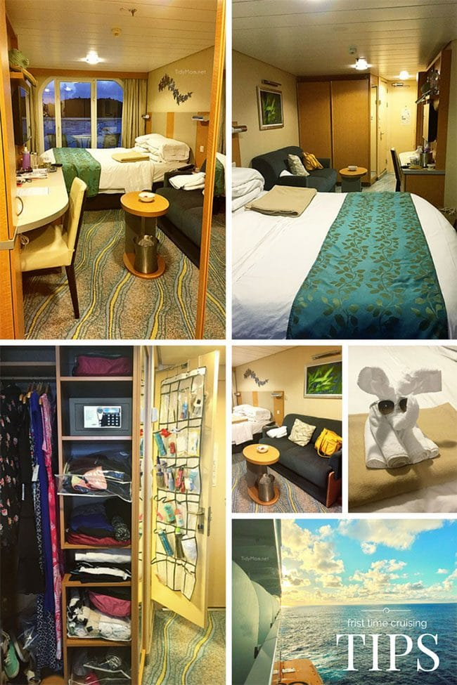 Tips for {first time} cruise ship vacation.  at TidyMom.net