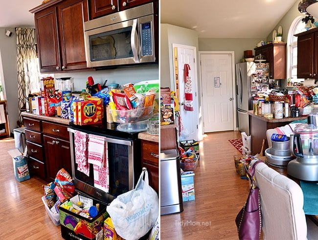 Pantry Clean Out