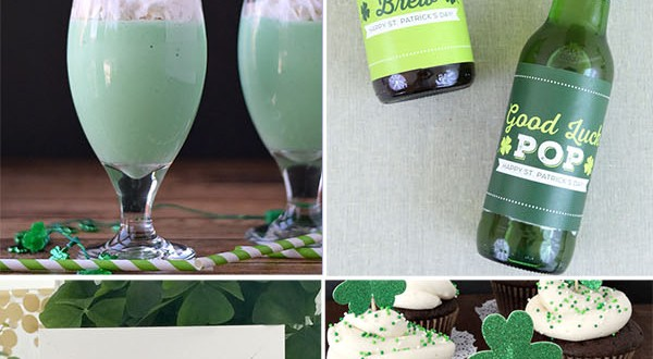 Find a varitety of LUCKY PROJECTS to make for St. Patrick's Day at TidyMom.net