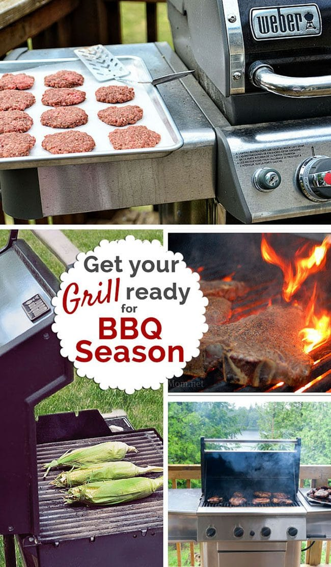 Get your GRILL READY for BBQ Season!