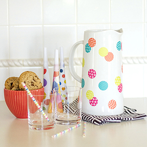DIY-Polka-Dot-Pitcher