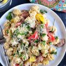 Easy Creamy Cajun Pasta with Smoked Sausage recipe at TidyMom.net