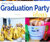 Stress Free Graduation Party ideas at TidyMom.net