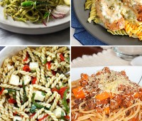 Perfect Pasta Recipes the whole family will love. at TidyMom.net