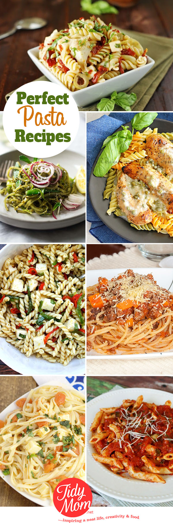 Perfect Pasta Recipes | I'm Lovin' It {linky party}