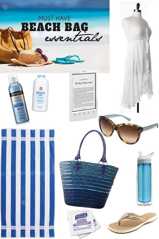 Must Have Beash Bag Essentials