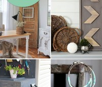 Be inspired!! 8 Crafty Creations anyone can make! details at TidyMom.net