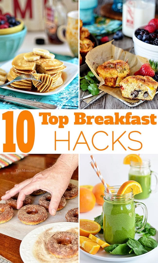 10 TOP BREAKFAST HACKS THAT WILL MAKE YOU WANT TO GET OUT OF BED!