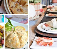 find recipes and more for your Fall Feast at TidyMom.net